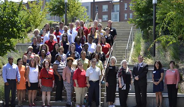 staff senate group photo
